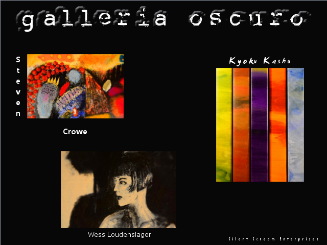 Galleria Oscuro 5.13-14.2016