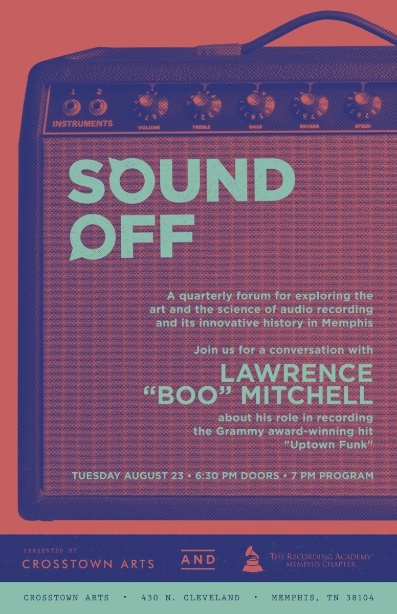 Sound Off August poster copy
