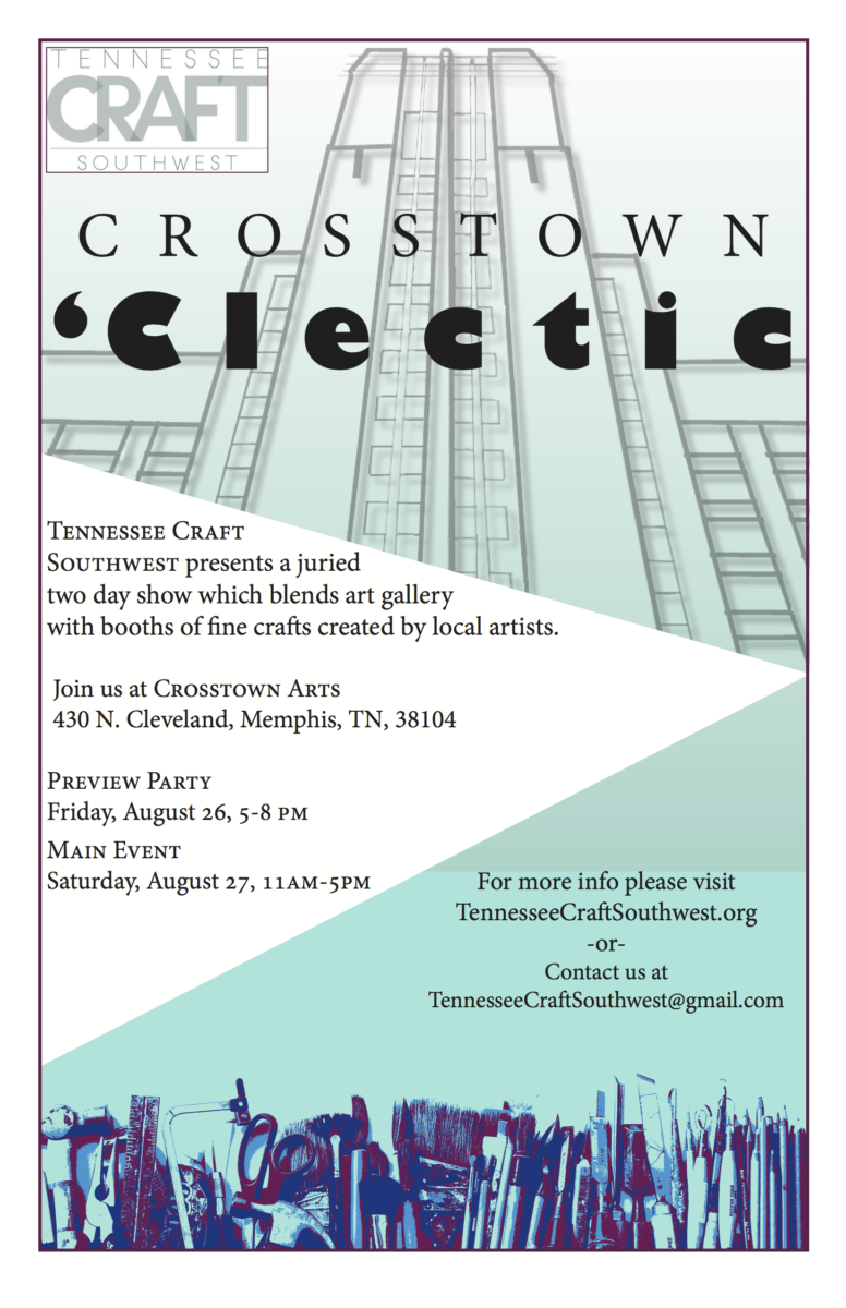 crosstown 'clectic poster tennesee craft 8.26-27.2016 2 copy